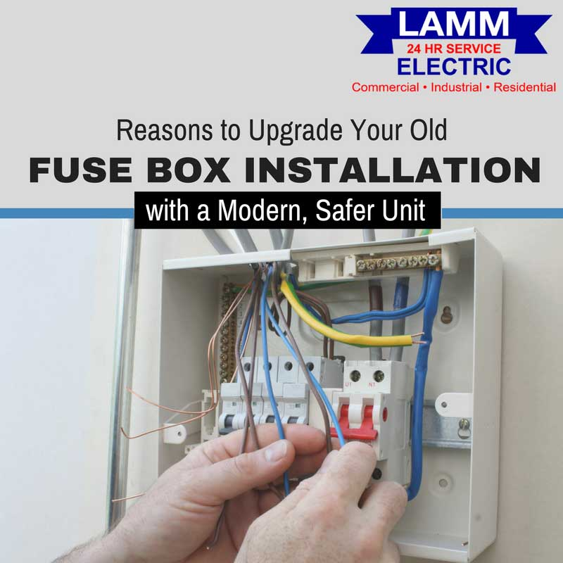 reasons to upgrade your old fuse box installation with a modern rh lammelectric com Mfg Residential Fuse Box Residential Fuse Box Diagram